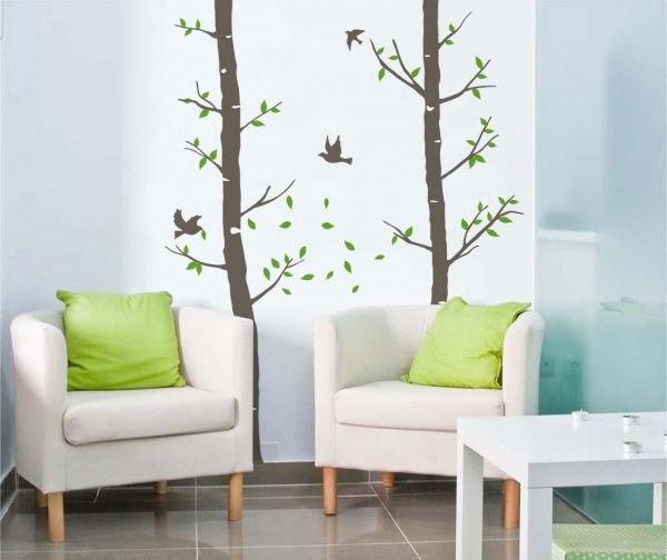 Friv fa falmatrica dekoráció gyerekszoba faltetoválás olcsó fali matrica