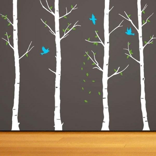 Feigen fa falmatrica dekoráció gyerekszoba faltetoválás fali matrica ötlet