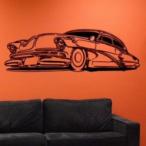 Chevy Deluxe falmatrica dekoráció M501