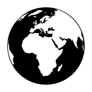Föld bolygó falmatrica dekoráció M302