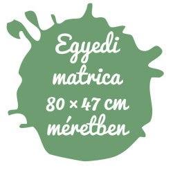 Matrica tervező egyedi matrica 100×97 cm területen kreatív ajándék