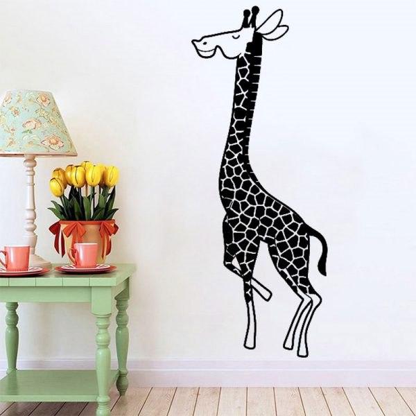 Zsiráf falmatrica dekoráció gyerekszoba ajándék ötlet