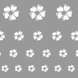 Virág festő sablon minta stencil hópehely ruhafestés üvegfestés m602