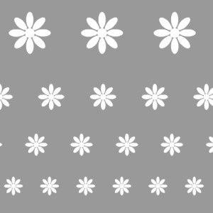 Virág sablon minta M605