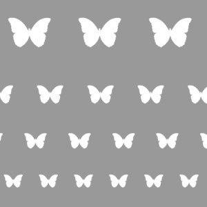Pillangós sablon minta M606