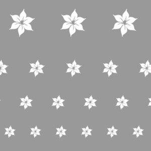 Virág sablon minta M607