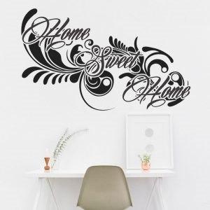 Home sweet home feliratos idézet olcsó falmatrica dekoráció faltetoválás