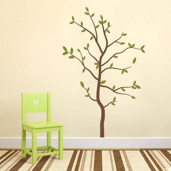 Olcsó fa falmatrica faltetoválás házilag gyerekszoba dekoráció motivációs