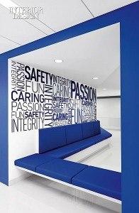 iroda dekoráció ötletek üzlet bolt tervezés fóliázás ablak matrica üveg