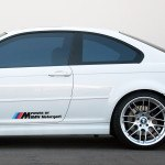 Power BMW Mpower autóra matrica egyedi matrica tervezés tuning kocsira