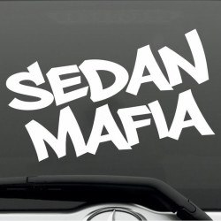 Sedan mafia autóra matrica egyedi matrica tervezés tuning kocsira jdm