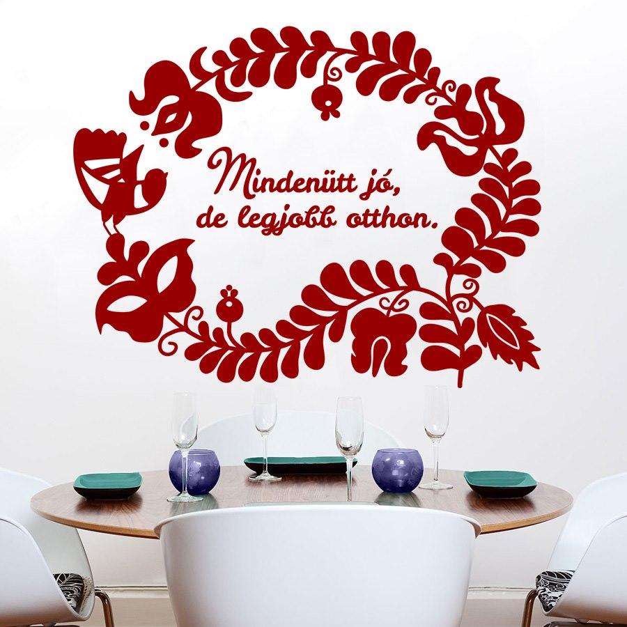 Magyar népmesék felirattal falmatrica dekoráció M228