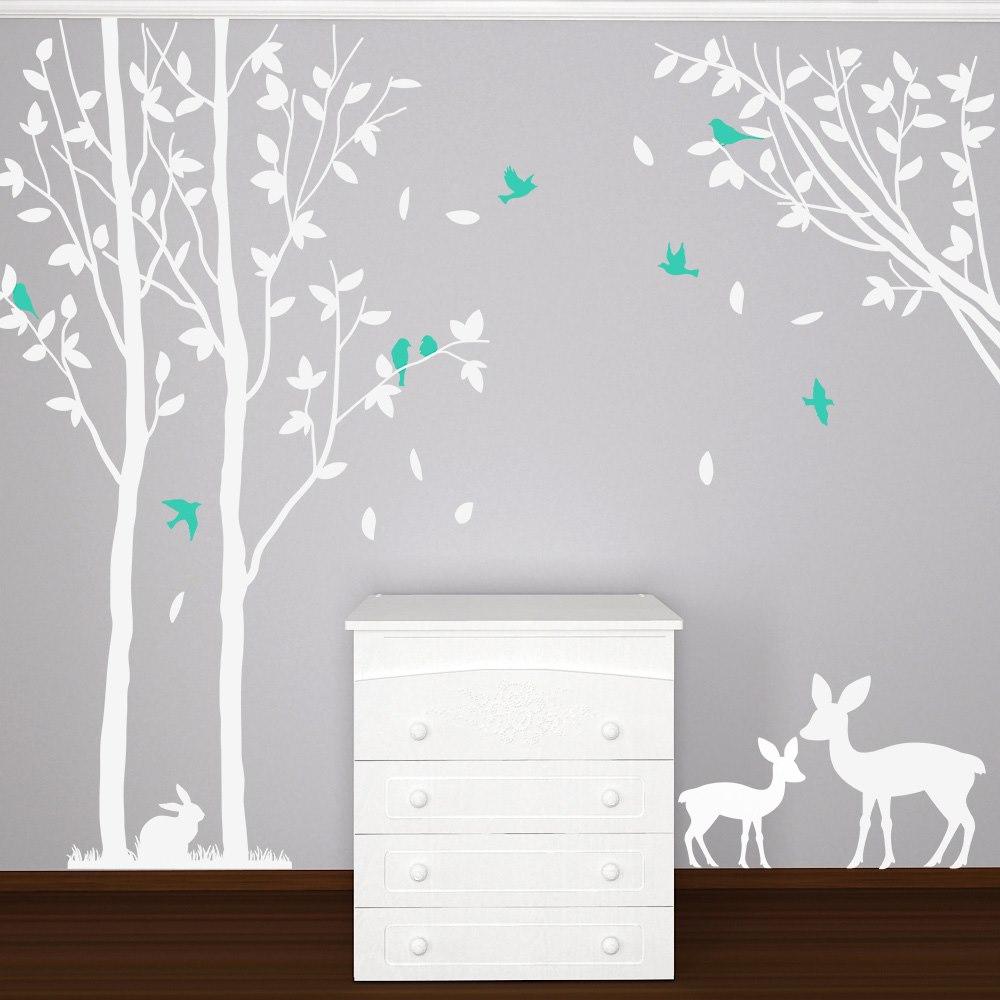 Babaszoba falmatrica dekoráció M116