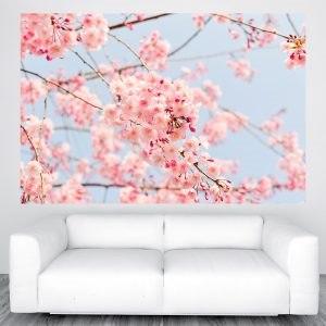 Cseresznyefa virágzás poszter óriás olcsó fali kép nyomtatás plakát