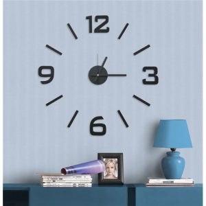 Óriás falióra öntapadós design óra matrica nagy modern egyedi fali óra