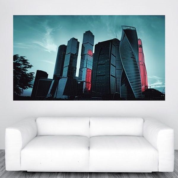 Fotó poszter moszkva város panoráma óriás fali kép nyomtatás rendelés