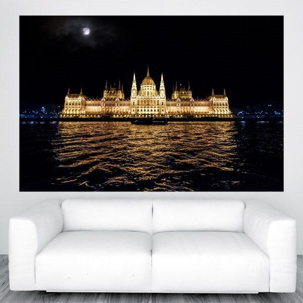 Parlament budapest város panoráma óriás fali kép nyomtatás rendelés