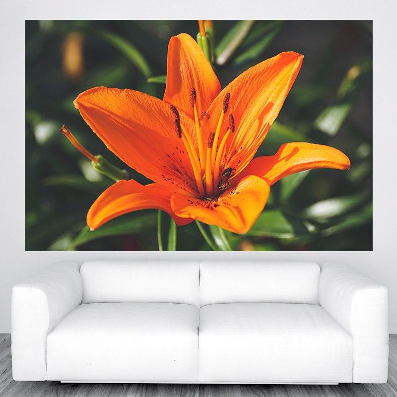 Virágos falikép M413