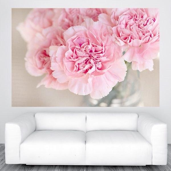 Vintage virág poszter panoráma óriás olcsó fali kép nyomtatás plakát