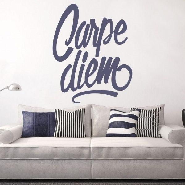 Carpe diem jelentése idézet szöveges feliratok kép falmatrica faltetoválás