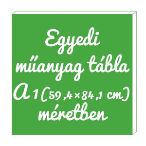 M922 Egyedi tábla A1 (59,4×84,1 cm)