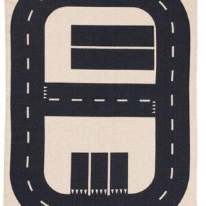 Autós út parkolóval szőnyeg T535