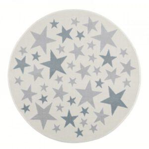 Csillagos kör alakú szőnyeg – Több színben és méretben T542