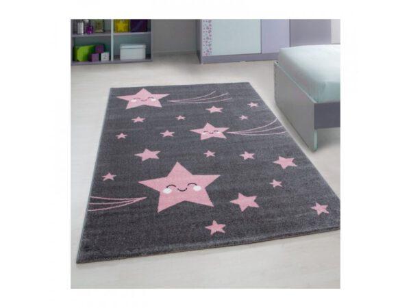 Cuki csillagos szőnyeg aranyos játszószőnyeg babaszoba gyerekszoba