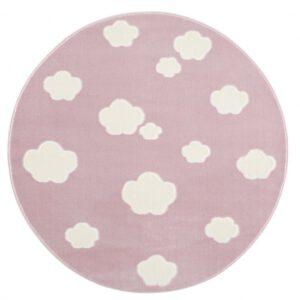 Felhős kör alakú szőnyeg – Több színben T564