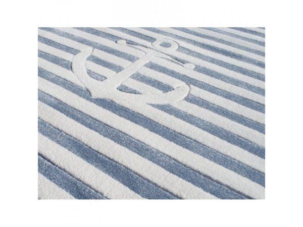 Hajós horgony vasmacska szőnyeg gyerekszoba játszószőnyeg