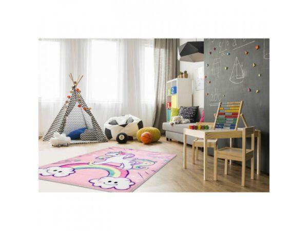 Unikornis szőnyeg gyerekszoba játszószőnyeg babaszoba dekoráció