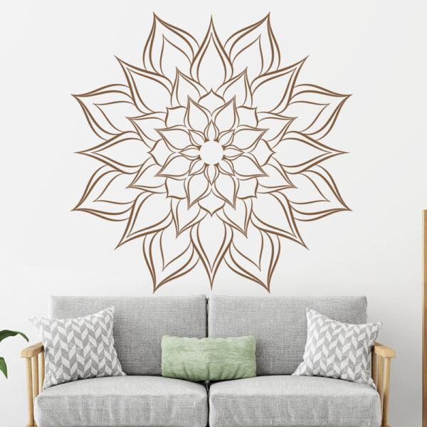 Mandala falmatrica dekoráció falimatrica konyhai gyerekszoba hálószoba
