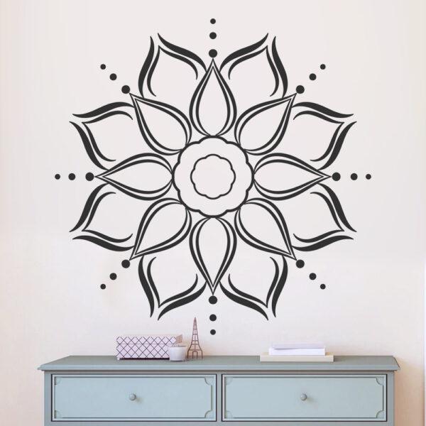 Mandala falmatrica dekoráció falimatrica konyhai hálószoba gyerekszoba