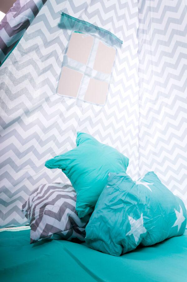 Gyerek sátor játszósátor kis sátor gyerekszobába pici mini babaszoba t518