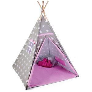 Gyerek sátor játszósátor kis sátor gyerekszobába pici mini babaszoba t522