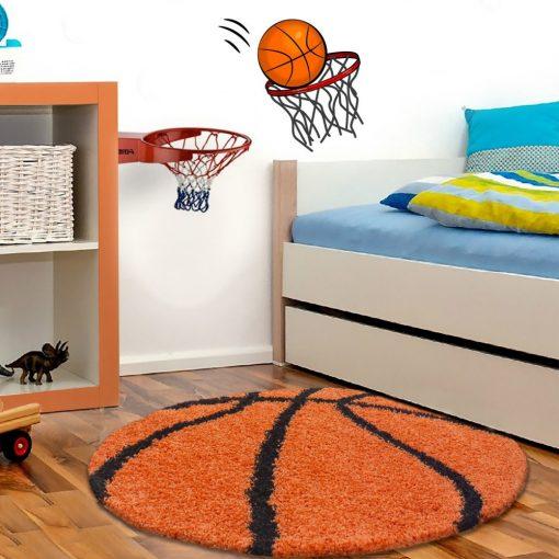 Kosárlabda kör alakú szőnyeg játszószőnyeg babaszoba gyerekszoba