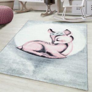 Őzikés szőnyeg gyerekszoba játszószőnyeg Őz őzike bambi cuki aranyos
