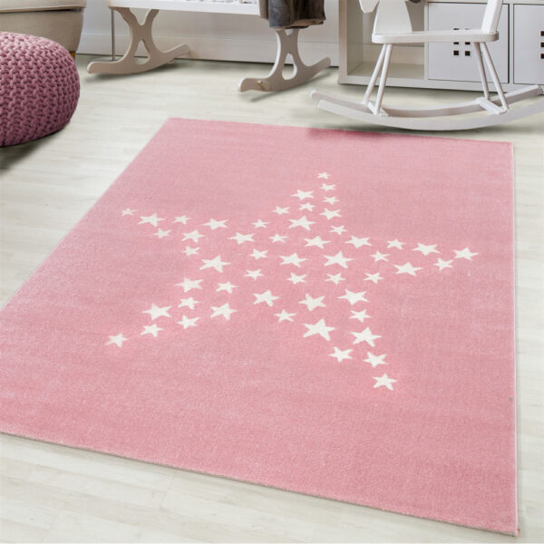Csillagos szőnyeg gyerekszoba játszószőnyeg babaszoba gyerekszoba