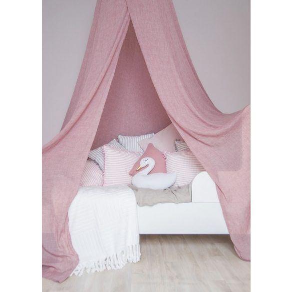 Baldachin gyerekszoba babaszoba dekoráció sátor kiságy mályva