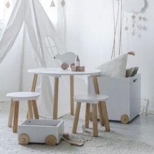 Gyerekasztal gyerekszoba babaszoba bútor gyerekbútor bababútor szék