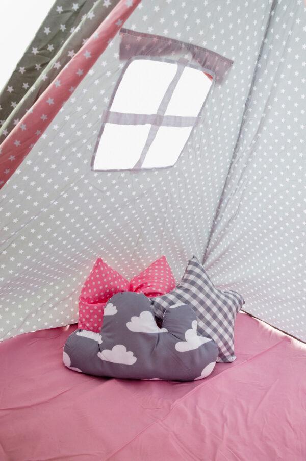 Gyerek sátor játszósátor kis sátor játék ajándék szoba teepee indián tipi