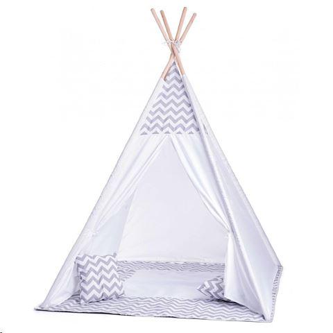 Gyerek sátor játszósátor kis gyerekszobába tipi teepee indián játék dekor